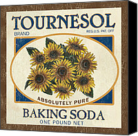 Soda Canvas Prints - Tournesol Baking Soda Canvas Print by Debbie DeWitt