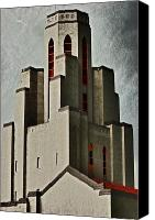 Ghosts Canvas Prints - Tower of Memories Canvas Print by Kevin Munro