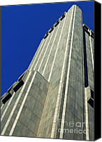 Chambers Canvas Prints - Tower on Chambers Street Canvas Print by Sarah Loft