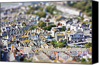 Miniature Effect Canvas Prints - Toy Town view Canvas Print by Simon Bratt Photography