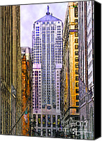 Cbot Canvas Prints - Trading Places Canvas Print by John Robert Beck