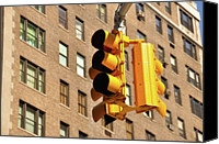 Guidance Canvas Prints - Traffic Signal Canvas Print by Keith McInnes Photography