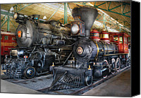 Baldwin Canvas Prints - Train - Engine - Steam Locomotives Canvas Print by Mike Savad
