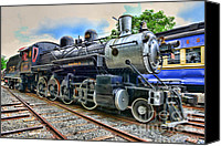 Baldwin Canvas Prints - Train - Steam - 385 Fully Restored Canvas Print by Paul Ward