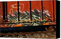 Rick Blood Canvas Prints - Train Art 17 Canvas Print by Rick  Blood