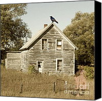 Haunted House Canvas Prints - Trapped in Past Tense Canvas Print by Desiree Paquette