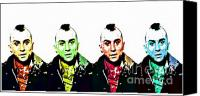 Robert Deniro Canvas Prints - Travis the Taxi Driver Canvas Print by Spencer McKain