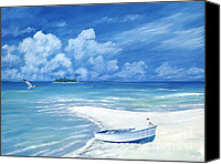 Cay Canvas Prints - Treasure Cay Canvas Print by Danielle Perry