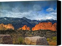 Featured Photo Canvas Prints - Treasures of Colorado Springs Canvas Print by Tim Reaves