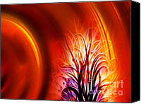 Perceptive Canvas Prints - Tree of Fire Canvas Print by Ann Croon