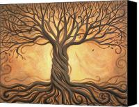 Spiritual Canvas Prints - Tree of Life Canvas Print by Renee Womack