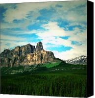 Canada Photographers Prints Canvas Prints - Trekking  Canvas Print by Jerry Cordeiro