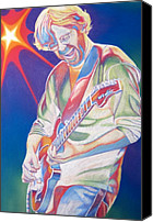 Singer Drawings Canvas Prints - Trey Anastasio Canvas Print by Joshua Morton