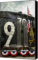 Veterans Memorial Canvas Prints - Tribute 911 Canvas Print by Peter Chilelli