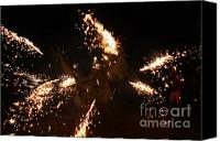 Pyrotechnics Canvas Prints - Trigger dragon Canvas Print by Agusti Pardo Rossello
