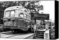 Chestnut Hill Canvas Prints - Trolley Car Diner - Philadelphia Canvas Print by Bill Cannon
