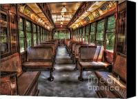 Trolley Canvas Prints - Trolly No. 948 Canvas Print by Susan Candelario