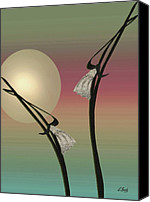 Asian Canvas Prints - Tropic Mood Canvas Print by Gordon Beck