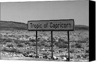 Moran Canvas Prints - Tropic of Capricorn Canvas Print by Aidan Moran