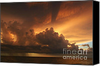 Thunderclouds Canvas Prints - Tropical Sunset Canvas Print by Matt Tilghman
