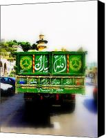Abstract Photo Canvas Prints - Trucking across Lebanon Canvas Print by Funkpix Photo  Hunter