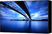 Dean Canvas Prints - True Blue View Canvas Print by Gordon Dean II
