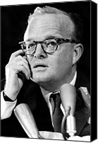 Capote Canvas Prints - Truman Capote As He Appeared Canvas Print by Everett