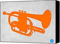 Player Canvas Prints - Tuba  Canvas Print by Irina  March