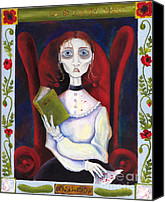 Creepy Painting Canvas Prints - Tuberculosis Canvas Print by Kerri Bash