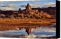 Sierra Canvas Prints - Tufa Mono Lake California Canvas Print by Garry Gay