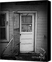 Screen Doors Photo Canvas Prints - Tuff Times 2 Canvas Print by Perry Webster