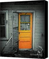 Screen Doors Photo Canvas Prints - Tuff Times Canvas Print by Perry Webster