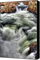 Kinetic Canvas Prints - Tumultuous  Canvas Print by JC Findley