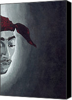 2pac Canvas Prints - Tupac Canvas Print by Rishanna Finney