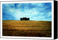Marco Digital Art Canvas Prints - Tuscany - Italy Canvas Print by Marco Hietberg