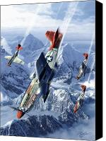 Plane Canvas Prints - Tuskegee Airmen  Canvas Print by Kurt Miller
