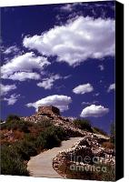 Indian Ruins Canvas Prints - Tuzigoot Canvas Print by Paul W Faust -  Impressions of Light