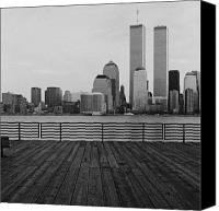 Cities Photo Canvas Prints - Twin Memories Canvas Print by Troy Ziel