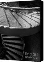 Staircase Canvas Prints - Two Stairs Canvas Print by Hideaki Sakurai