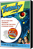 1950s Poster Art Canvas Prints - Twonky, From Left Norman Field, Hans Canvas Print by Everett