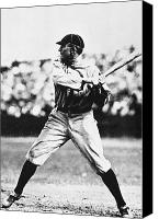Detroit Tigers Canvas Prints - Ty Cobb (1886-1961) Canvas Print by Granger
