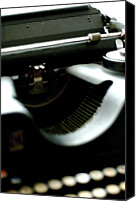 Typewriter Canvas Prints - Typewriter 30s Canvas Print by Massimo Calmonte (www.massimocalmonte.it)