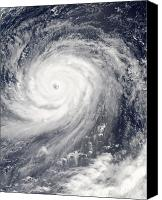 Natural Disasters Canvas Prints - Typhoon Choi-wan West Of The Mariana Canvas Print by Stocktrek Images