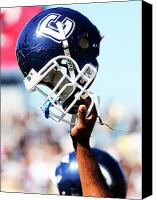 Team Canvas Prints - UConn Helmet  Canvas Print by University of Connecticut