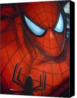 Super Heroe Canvas Prints - Ultimate Spider Canvas Print by Beto Machado