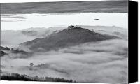 Fineartam Canvas Prints - Umbrian Mist Canvas Print by Michael Avory