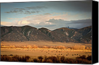 Rural Texas Canvas Prints - Under  Big Skies Of Montana Canvas Print by Doug van Kampen, van Kampen Photography