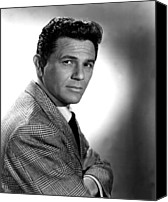 1950 Movies Photo Canvas Prints - Under My Skin, John Garfield, 1950 Canvas Print by Everett