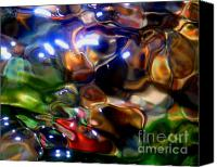 Abstract Photo Canvas Prints - Underwater Funkschway Canvas Print by Terril Heilman