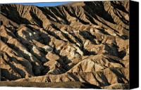 Death Valley National Park Canvas Prints - Unearthly world - Death Valleys badlands Canvas Print by Christine Till